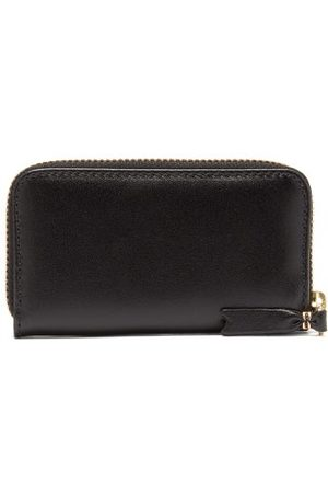 Comme des Garçons Zip-around Leather Coin Purse - Mens