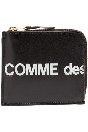Comme des Garçons Men Wallets - Logo-print Leather Wallet - Mens