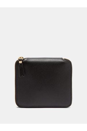Comme des Garçons Men Wallets - Zip-around Leather Wallet - Mens