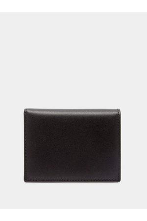 Comme des Garçons Men Wallets - Grained-leather Bi-fold Wallet - Mens