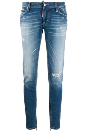 Dsquared2 Women Skinny - Distressed skinny jeans