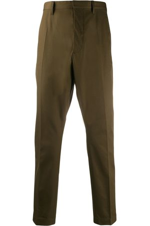 Dsquared2 Men Formal Pants - Tapered twill trousers