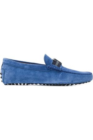 Tod's Gommino logo loafers