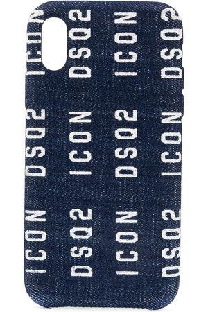 Dsquared2 Denim logo iPhone X case