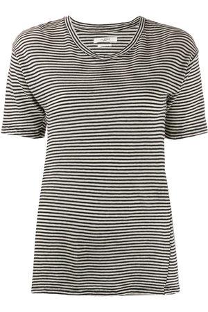 Isabel Marant Striped longline T-shirt