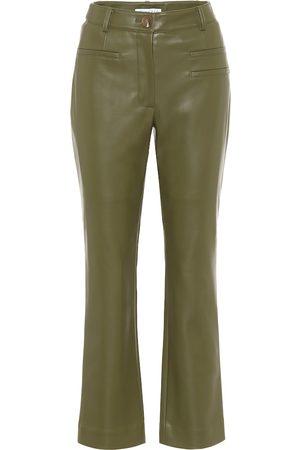 REJINA PYO Finley faux-leather high-rise pants