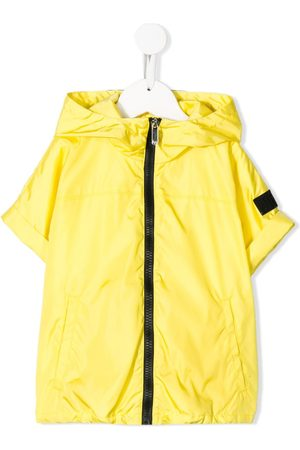 Il gufo Short-sleeved hooded jacket