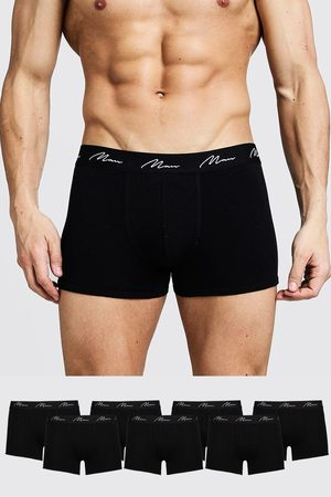 Boohoo Mens 7 Pack MAN Signature Trunks