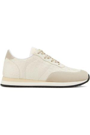 Giuseppe Zanotti Low top embossed croc-effect sneakers