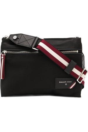 Bally Nylon double-pouch shoulder bag