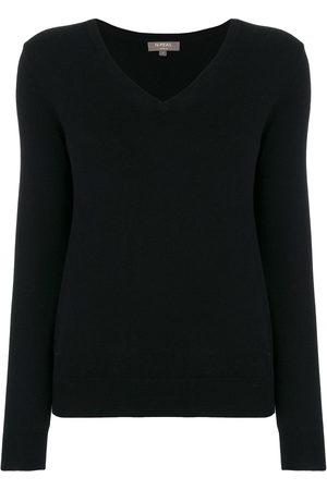 N.Peal Cashmere V-neck jumper