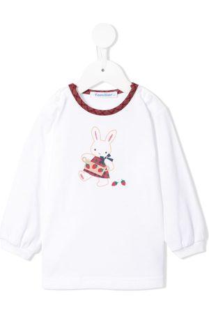 Familiar Bunny print T-shirt