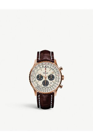 Breitling RB0127121G1P1 Navitimer B01 chronograph stainless steel watch