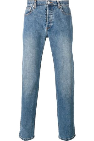 A.P.C Washed effect straight leg jeans