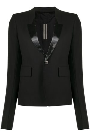 Rick Owens Single-breasted fitted blazer
