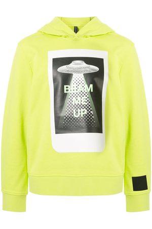 Blackbarrett Graphic print cotton hoodie