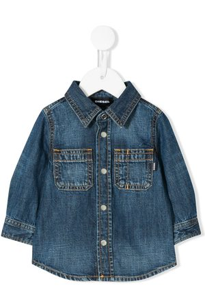 Diesel Long sleeved denim shirt