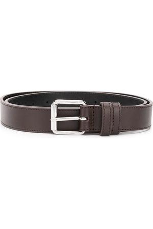 Comme des Garçons Square-tip leather belt