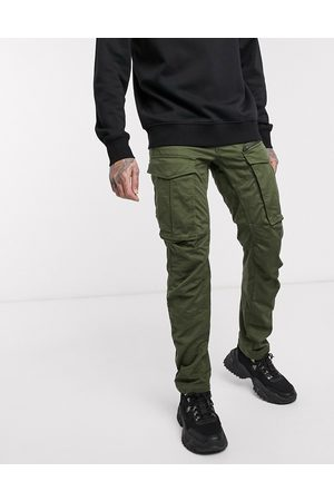 G-Star Rovic Zip 3D straight tapered fit pants in khaki-Green