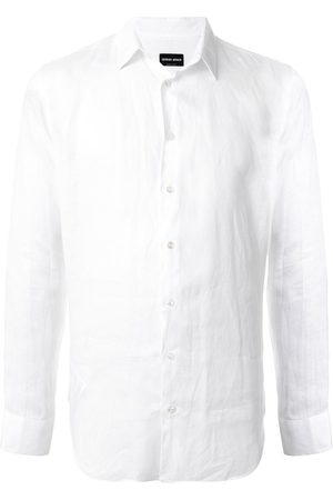 Armani Men Long sleeves - Long-sleeved plain shirt