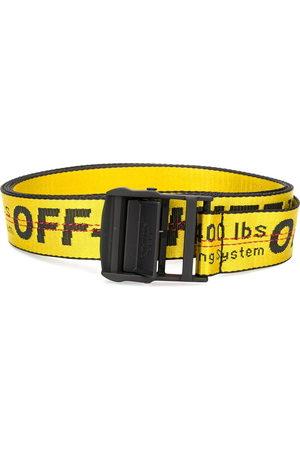 OFF-WHITE Men Belts - Industrial buckle belt