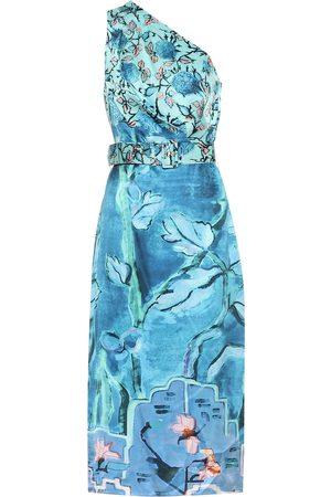 Peter Pilotto Printed silk dress