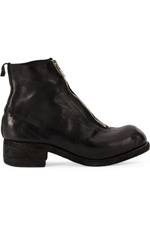 GUIDI Front zip biker boots