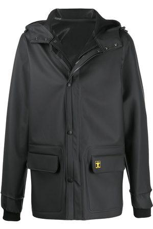 Paco Rabanne Loose-fit logo hooded jacket