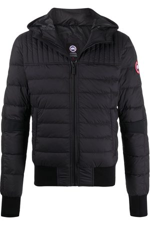 Canada Goose Men Winter Jackets - Long sleeve fitted puffer jacket
