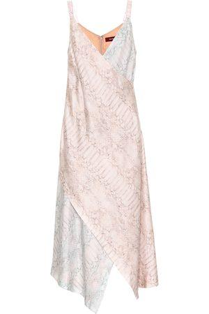 Sies marjan Printed silk midi dress