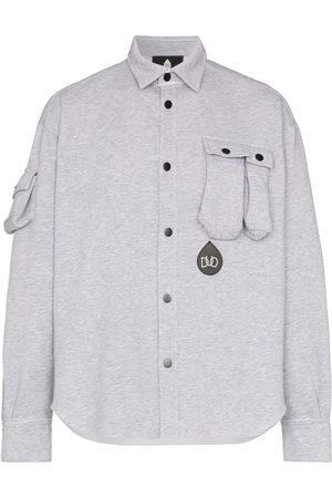 DUOltd Button-up jersey shirt