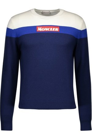 Moncler Round-neck logo sweatshirt