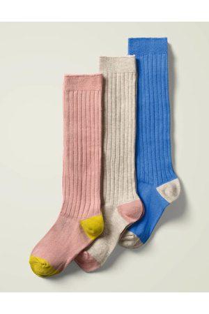 Boden Mini Ribbed Knee High Socks 3 Pack Girls Boden
