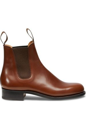 J.M. Weston Boxcalf Chelsea Boots