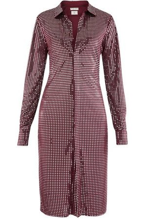 Bottega Veneta Long sleeve satin dress