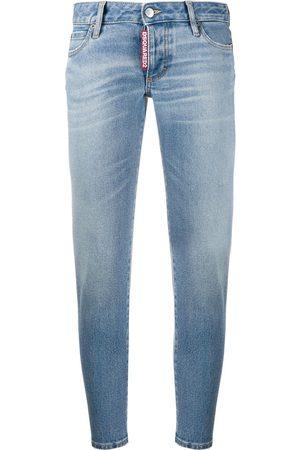 Dsquared2 Women Slim - Slim cropped jeans