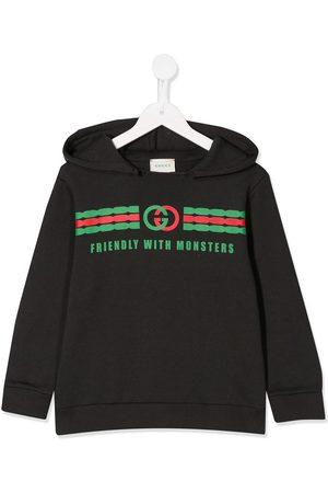 Gucci Boys Hoodies - GG print hoodie