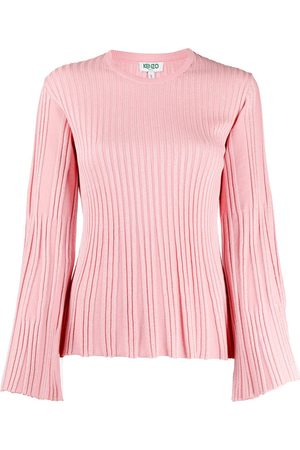 Kenzo Metallic ribbed-knit jumper
