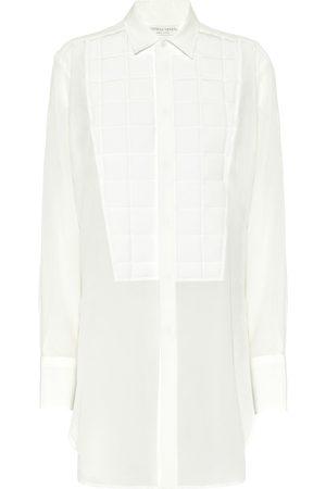 Bottega Veneta Shirts - Silk crêpe de chine shirt