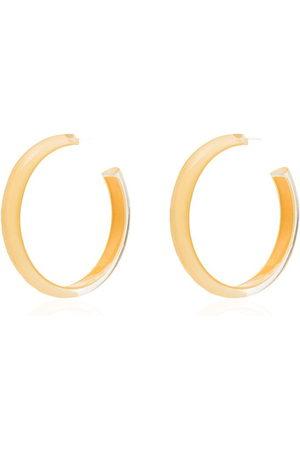 Alison Lou Loucite medium jelly hoop earrings