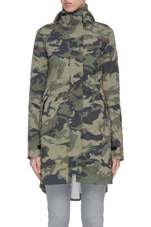 Canada Goose Salida' camo print hooded raincoat