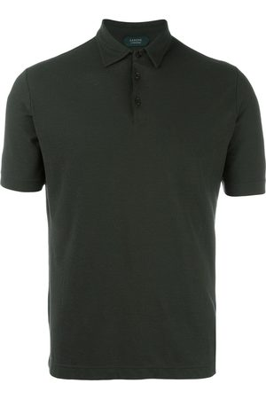 ZANONE Shortsleeved fitted polo shirt