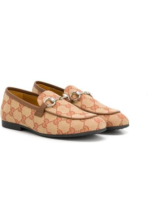 Gucci Girls Ballerinas - GG Supreme flat shoes