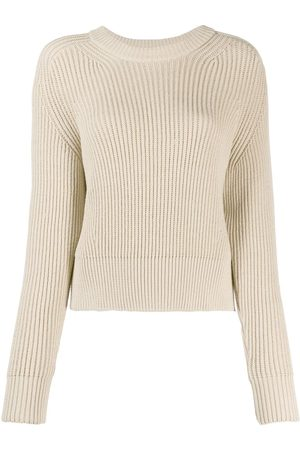 Ami Paris Women Sweaters - Crewneck knitted jumper