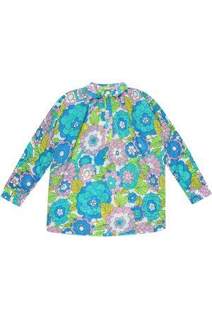 Dodo Bar Or Kids Floral cotton shirt