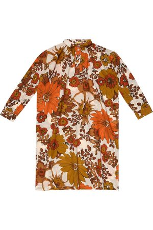 Dodo Bar Or Kids Floral cotton kaftan
