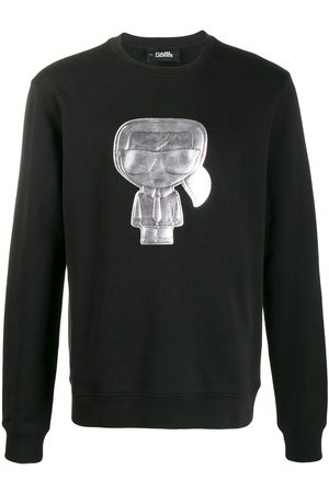 Karl Lagerfeld Ikonik crew neck sweatshirt