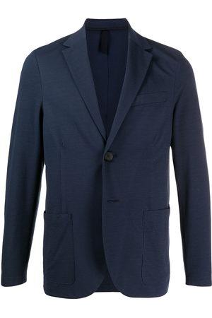 Harris Wharf London Men Blazers - Textured single-breasted blazer