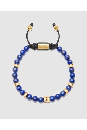 Nialaya Men's Lapis Beaded Bracelet - Jewellery Men's Lapis Beaded Bracelet