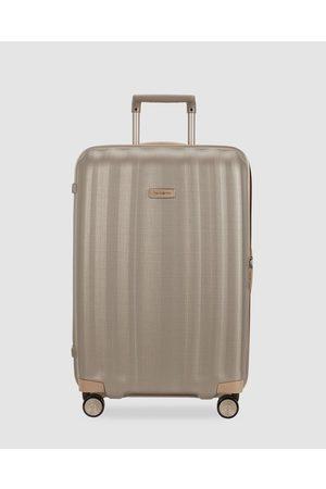 Samsonite Lite Cube Prime 76cm Spinner - Travel and Luggage (Matte Ivory & ) Lite-Cube Prime 76cm Spinner